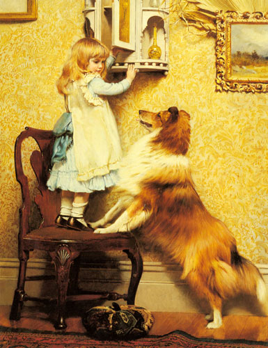 Barber_charles_burton_a_little_girl_and_
