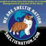 Special Edition Sheltie Nation Die-Cut Decal