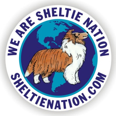 The NEW Sheltie Nation Sticker!